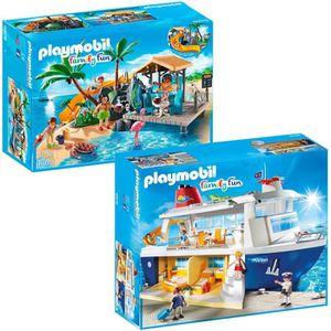 UNIVERS MINIATURE Playmobil Pack Family Fun Croisière