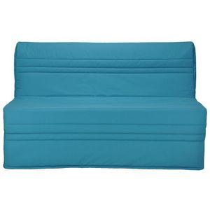 BZ JOÉ Banquette BZ 3 places - Tissu bleu turquoise -