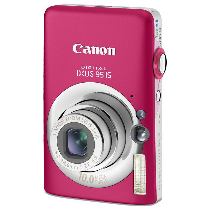 APPAREIL PHOTO COMPACT CANON Ixus 95 IS Rose