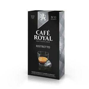 CAFÉ 10 capsules Cafe Royal Ristretto Capsules compatib