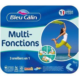 OREILLER BLEU CALIN Oreiller MULTI-FONCTIONS MEMOFILL - For