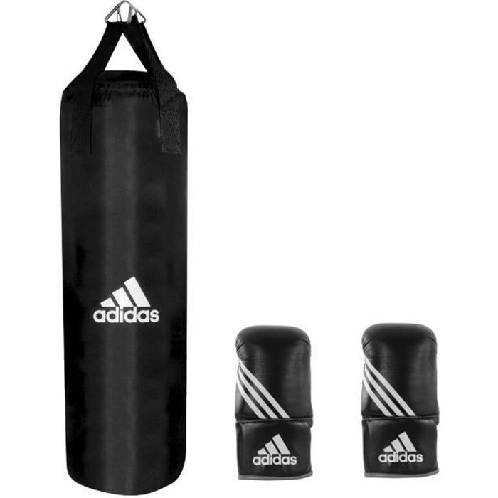 adidas kit sac de frappe punching ball gants adibgs01. Black Bedroom Furniture Sets. Home Design Ideas