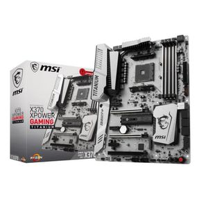 CARTE MÈRE MSI Carte mère X370 XPOWER GAMING TITANIUM - Socke
