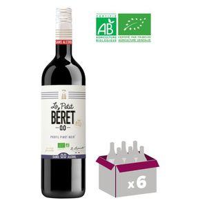 Apéritif à base de vin LE PETIT BERET Rouge Fruité Boisson sans Alcool à