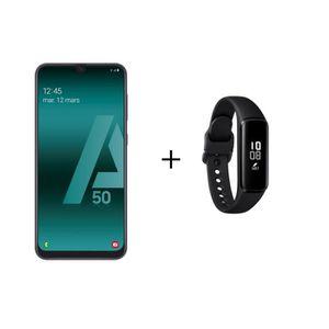 SMARTPHONE Galaxy A50 Noir + Galaxy Fit e Noir