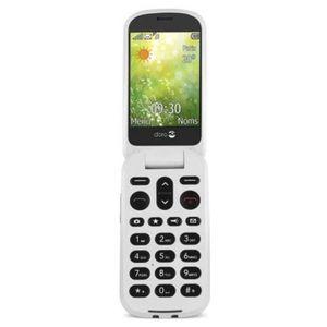 Téléphone portable Doro 6050 blister Graphite/White