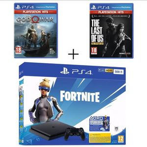 CONSOLE PS4 Pack PlayStation : PS4 Slim 500 Go Noire  + The La