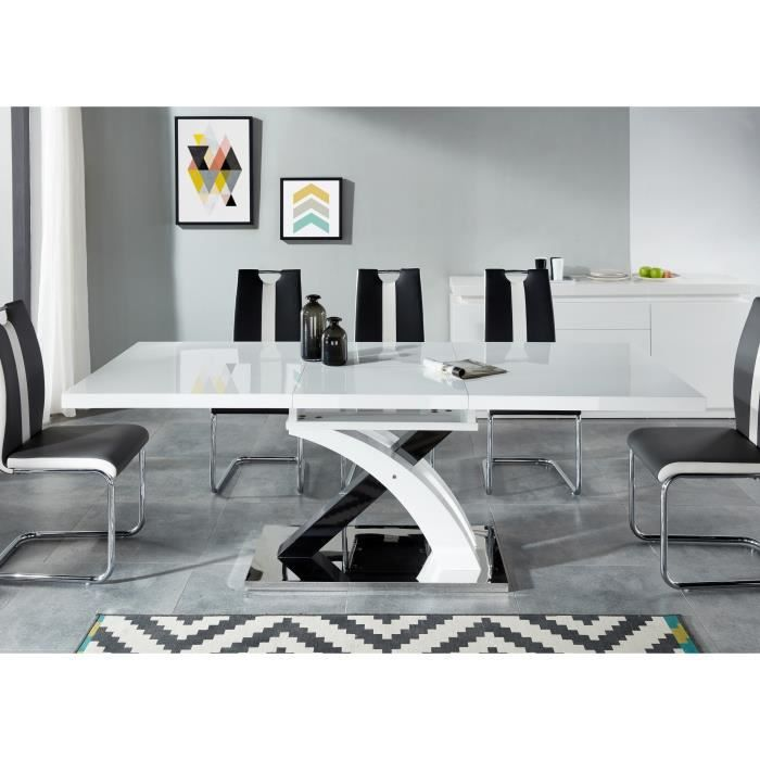 Table extensible achat vente table extensible pas cher cdiscount - Table a manger 10 personnes ...