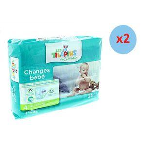 COUCHE Pack LES TILAPINS Couches Maxi Taille 4 - 7 à 18kg