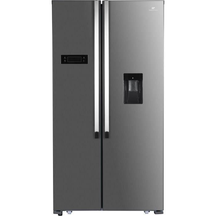 RÉFRIGÉRATEUR AMÉRICAIN CONTINENTAL EDISON Réfrigérateur Américain 514 L a