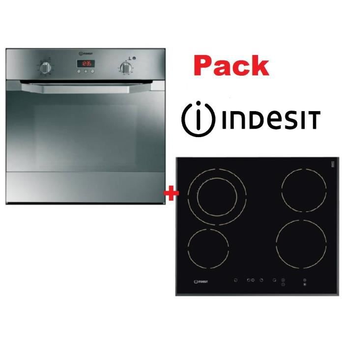 Pack indesit four table vitro achat vente lot - Branchement table vitroceramique ...