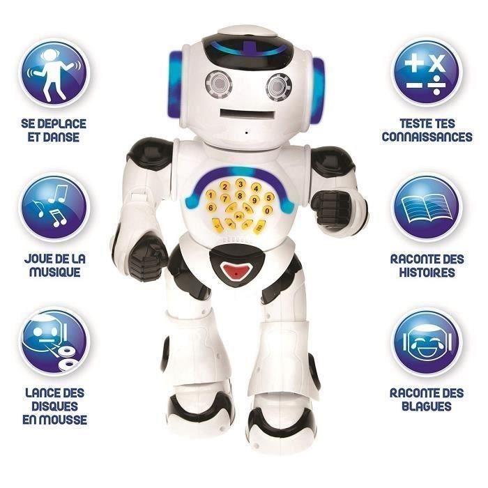ROBOT - ANIMA LIVES LEXIBOO Powerman - Le robot affiche l'interactivité