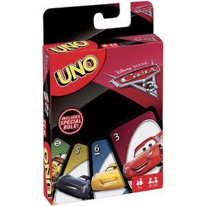 CARTES DE JEU UNO - Cars 3 - Jeu de Cartes