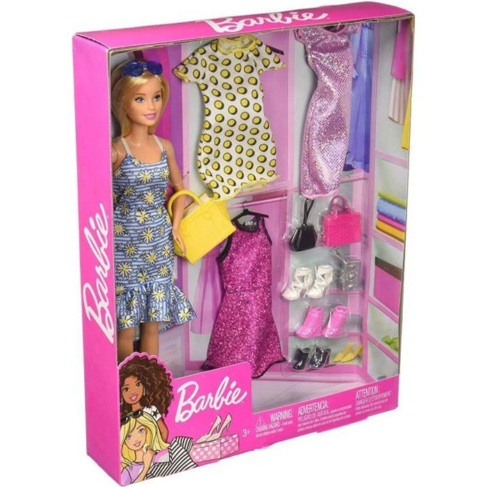great fit official site super cheap Barbie - Barbie Barbie Et Ses 3 Tenues - 3 ans et +