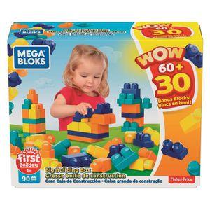 VOITURE À CONSTRUIRE Mega Bloks -Coffret Bonus Pack 60 + 30 - 1 an et +