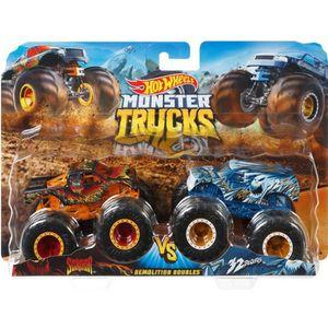 VAISSEAU SPATIAL HOT WHEELS - Monster Trucks - Méga Roues et Méga A