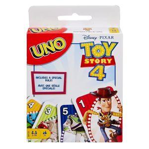 CARTES DE JEU UNO Toy Story 4 Jeu de cartes - 2 à 10 joueurs - 7