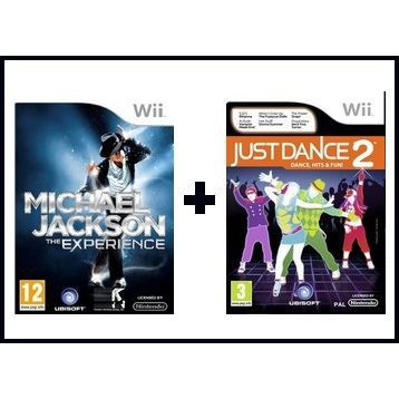 JEUX WII JUST DANCE 2 + MICHAEL JACKSON / Wii