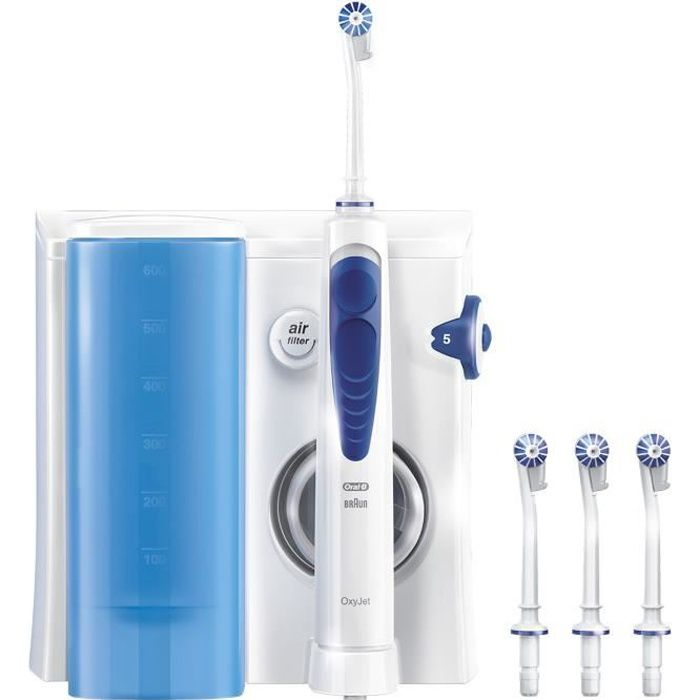 hydropulseur jet dentaire oral b oxyjet achat vente brosse a dents pulseur cdiscount. Black Bedroom Furniture Sets. Home Design Ideas