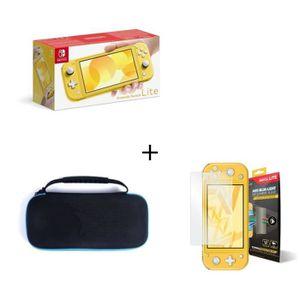 SORTIE CONSOLE NINTENDO SWITCH Nintendo Switch Lite Jaune + Housse Switch Lite +
