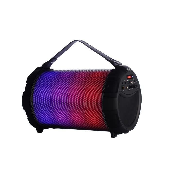 ENCEINTE NOMADE DUAL DL-DJ125 Enceinte portable autonome - Bluetoo