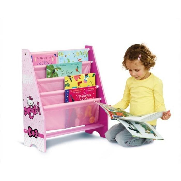 biblioth que enfant hello kitty achat vente tag re. Black Bedroom Furniture Sets. Home Design Ideas