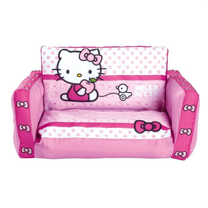 canap lit enfant hello kitty 70 x 140 cm achat vente fauteuil canap b b cdiscount. Black Bedroom Furniture Sets. Home Design Ideas