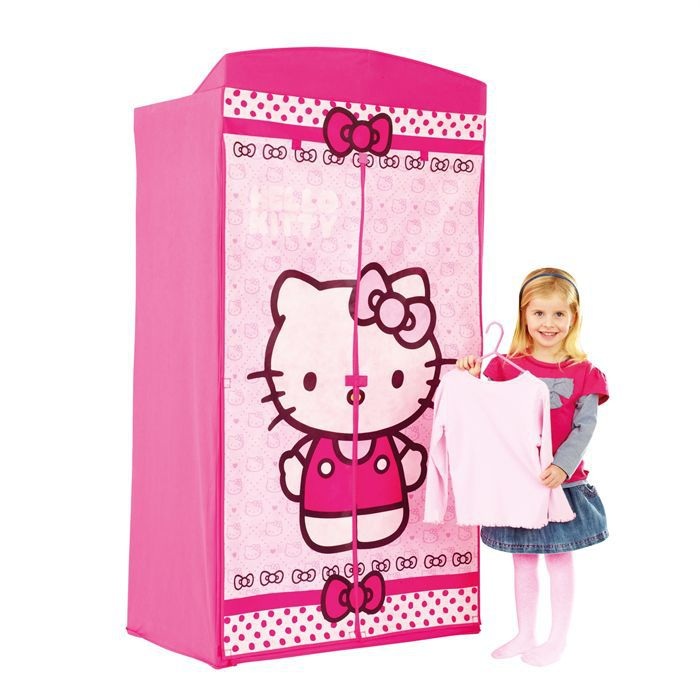hello kitty armoire en tissu achat vente armoire. Black Bedroom Furniture Sets. Home Design Ideas