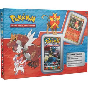 CARTE A COLLECTIONNER POKEMON Coffret Exclu 4 Boosters XY +Carte promo