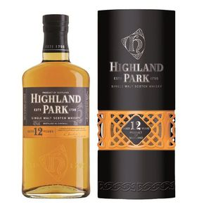WHISKY BOURBON SCOTCH Highland Park 12 ans