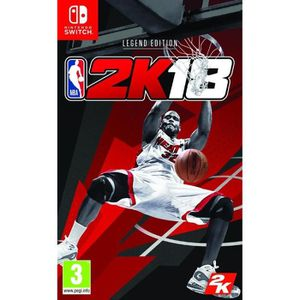 JEU NINTENDO SWITCH NBA 2K18 Legend Edition Jeu Switch