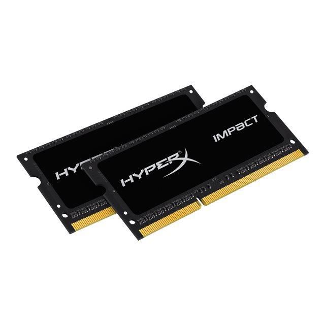 MÉMOIRE RAM Kingston 8Go DDR3L HyperX Impact CL11