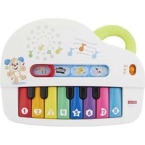BOITE À MUSIQUE FISHER-PRICE - Mon Piano Rigolo - Piano électroniq