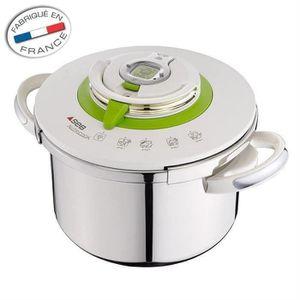 COCOTTE MINUTE SEB Autocuiseur Nutricook - P4221403 -  8L - Tous
