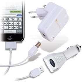 CHARGEUR GPS COVERTEC Kit de charge et synchronisation USB Sec