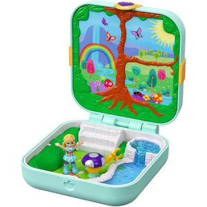 FIGURINE - PERSONNAGE POLLY POCKET Coffret Secret La Forêt Enchantée de