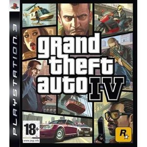 JEU PS3 GTA IV PS3 / Jeu console PS3