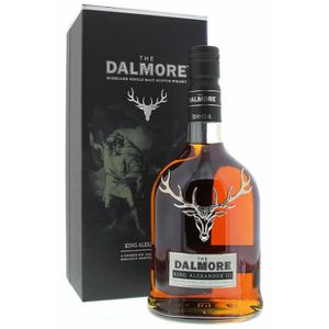 WHISKY BOURBON SCOTCH Dalmore King Alexander 3 III