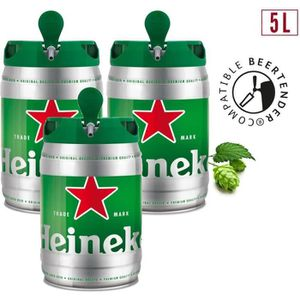 BIÈRE 2 achetés + 1 offert - Heineken - Fût 5L compatibl