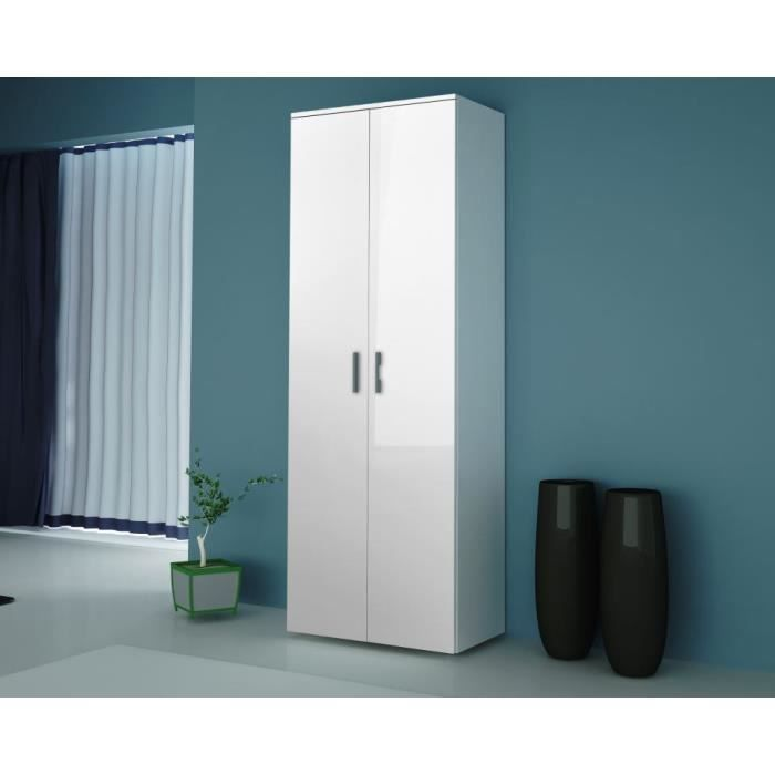 Armoire laquee blanche images - Armoire blanche 2 portes ...