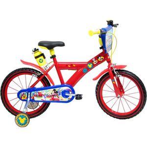 VÉLO ENFANT MICKEY Vélo 4/7 ans 16'' Enfant