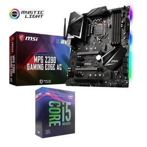 PROCESSEUR Pack Processeur Intel Core i5 9600KF + Carte Mère