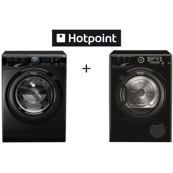 hotpoint pack lavage wmf823k fr lave linge frontal 8kg. Black Bedroom Furniture Sets. Home Design Ideas