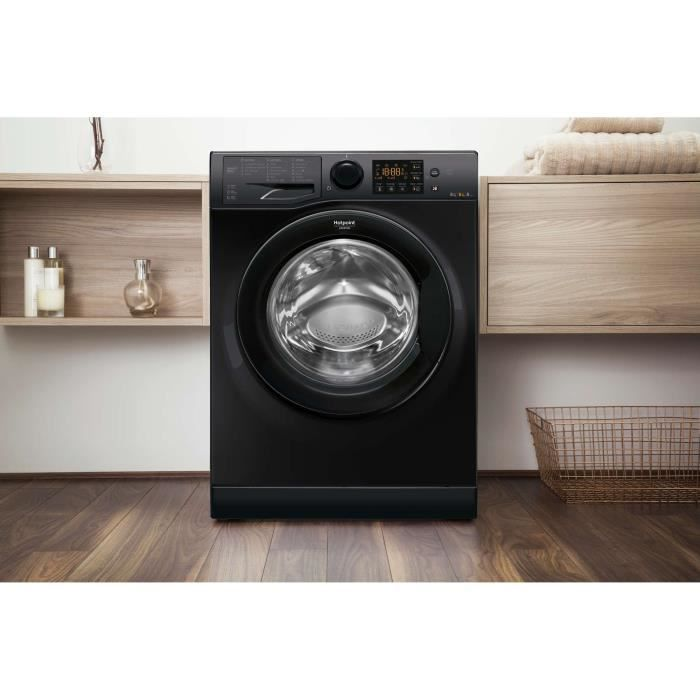 hotpoint rdsg 86407 kk fr lave linge s chant lav. Black Bedroom Furniture Sets. Home Design Ideas