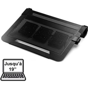 VENTILATION  Cooler Master NotePal U3 Plus Noir