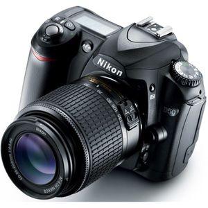APPAREIL PHOTO RÉFLEX NIKON D50 + Nikkor zoom 18-55mm f/3.5-5.6 IF-ED