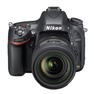 APPAREIL PHOTO RÉFLEX NIKON D600 + Objectif NIKKOR 24/85 mm