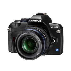 APPAREIL PHOTO RÉFLEX Olympus E-450 Kit Simple (EZ-1442)