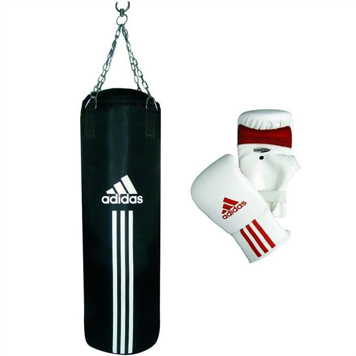 adidas kit sac frappe 90 cm gants de sac prix pas cher cdiscount. Black Bedroom Furniture Sets. Home Design Ideas