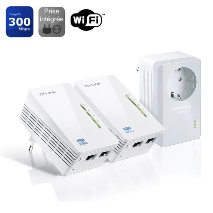 tplink kit 3cpl 500 avec prise wifi tlwpa4226tkit prix pas cher cdiscount. Black Bedroom Furniture Sets. Home Design Ideas